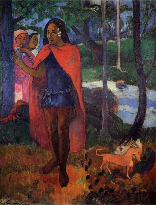 Paul Gauguin - Marquesan Man - The Sorcerer of Hiva Ova